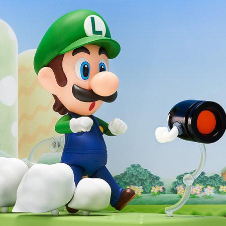 Super Mario Nendoroid Action Figure Luigi-2879