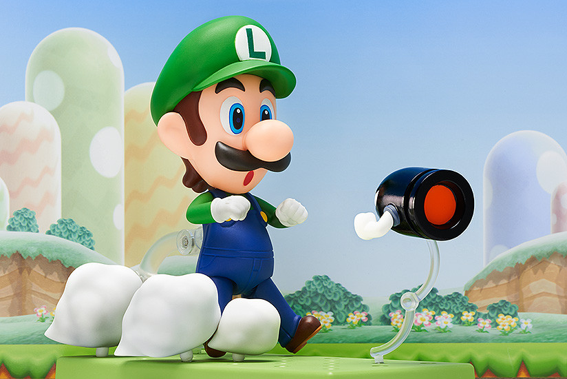Super Mario Nendoroid Action Figure Luigi-2879