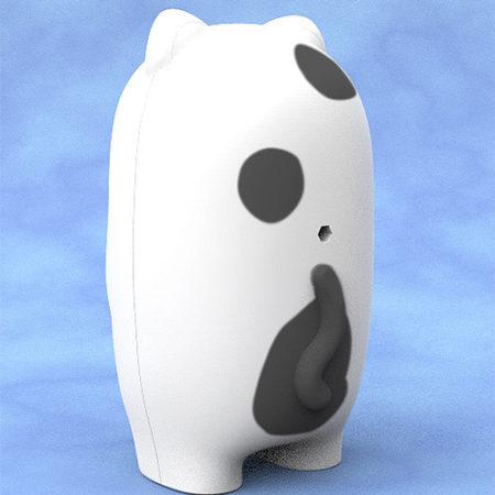 Nendoroid More Face Parts Case for Nendoroid Figures Tuxedo Cat-2890
