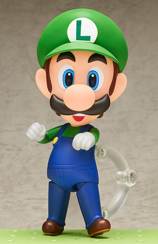 Super Mario Nendoroid Action Figure Luigi-2880