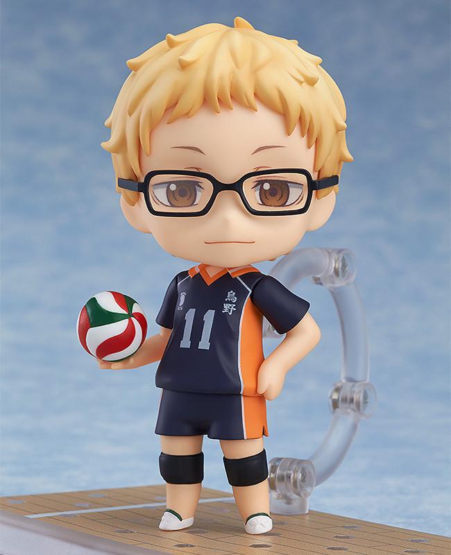 Haikyu!! Nendoroid Action Figure Kei Tsukishima-0