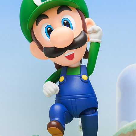 Super Mario Nendoroid Action Figure Luigi-0
