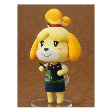 Animal Crossing New Leaf Nendoroid Action Figure Shizue Isabelle-0