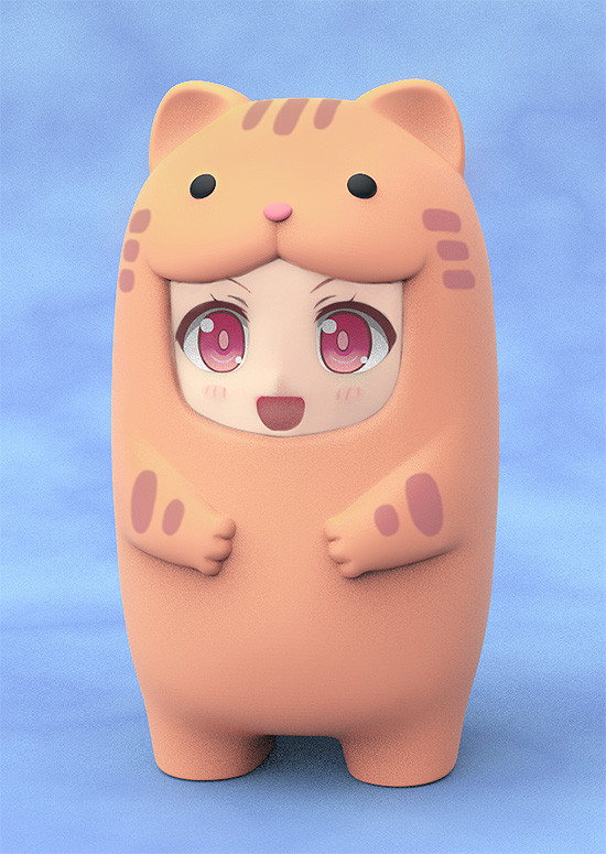 Nendoroid More Face Parts Case for Nendoroid Figures Tabby Cat-0