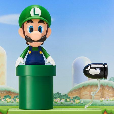 Super Mario Nendoroid Action Figure Luigi-2881