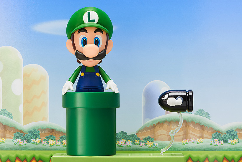 Super Mario Nendoroid Action Figure Luigi-2881