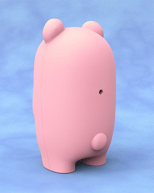 Nendoroid More Face Parts Case for Nendoroid Figures Pink Bear-2896