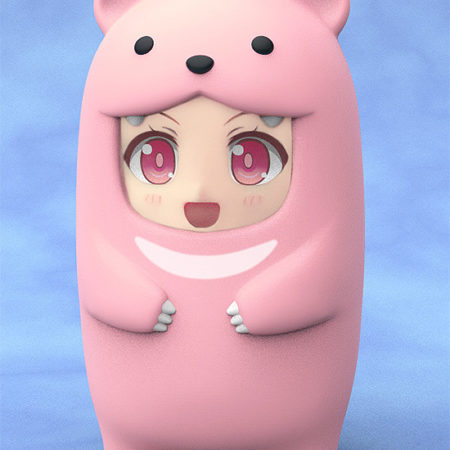Nendoroid More Face Parts Case for Nendoroid Figures Pink Bear-0