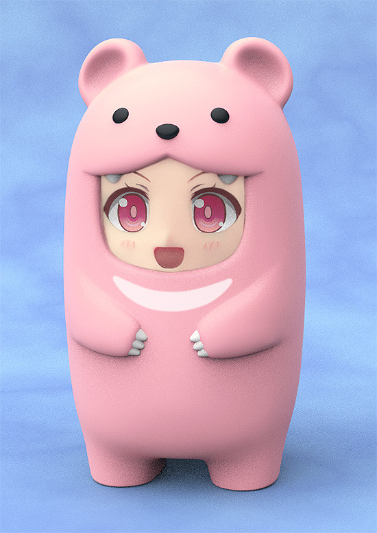 Nendoroid More Face Parts Case for Nendoroid Figures Pink Bear-0