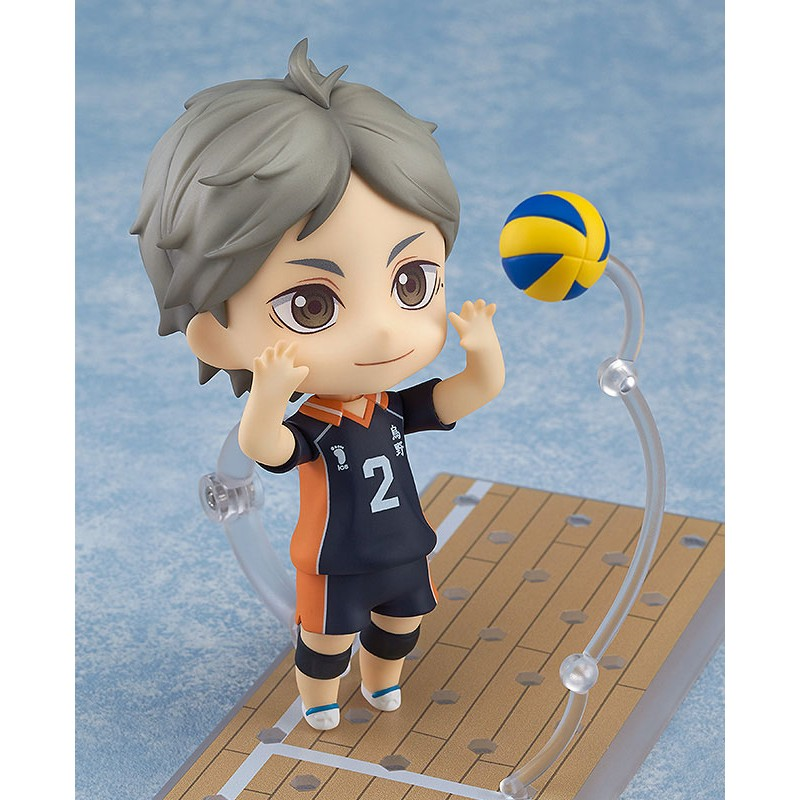 Haikyu!! Third Season Nendoroid Action Figure Koushi Sugawara-3170