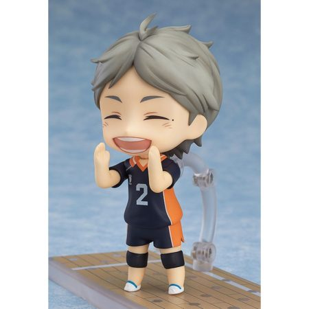 Haikyu!! Third Season Nendoroid Action Figure Koushi Sugawara-3169