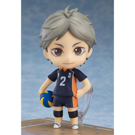 Haikyu!! Third Season Nendoroid Action Figure Koushi Sugawara-3166