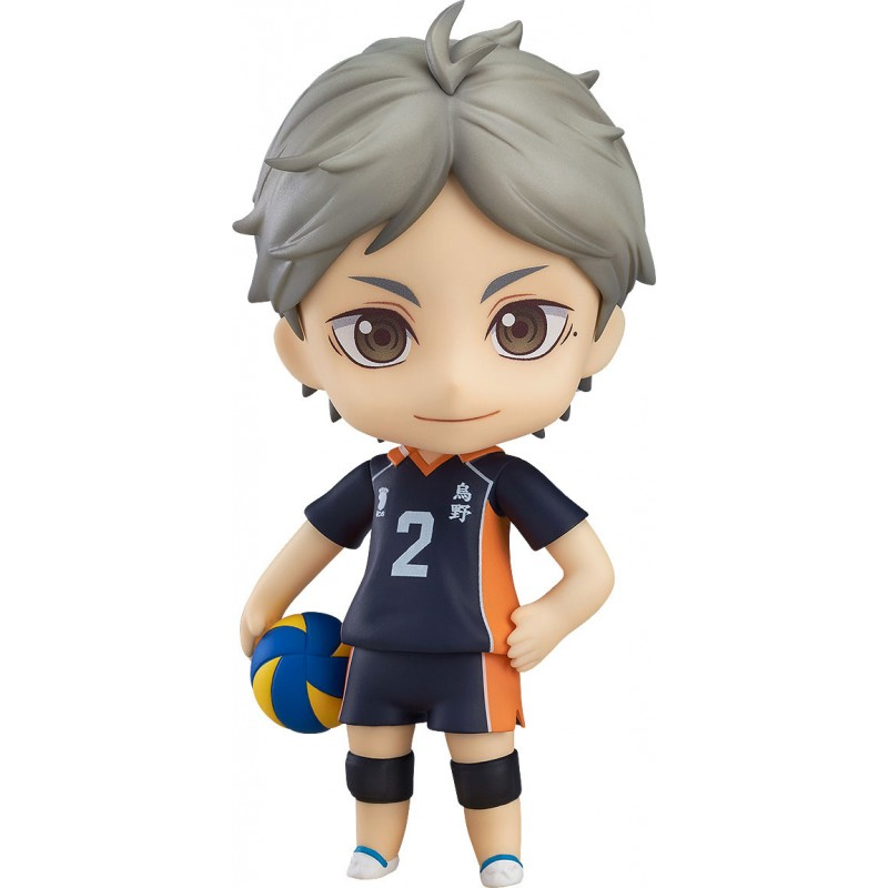 Haikyu!! Third Season Nendoroid Action Figure Koushi Sugawara-0