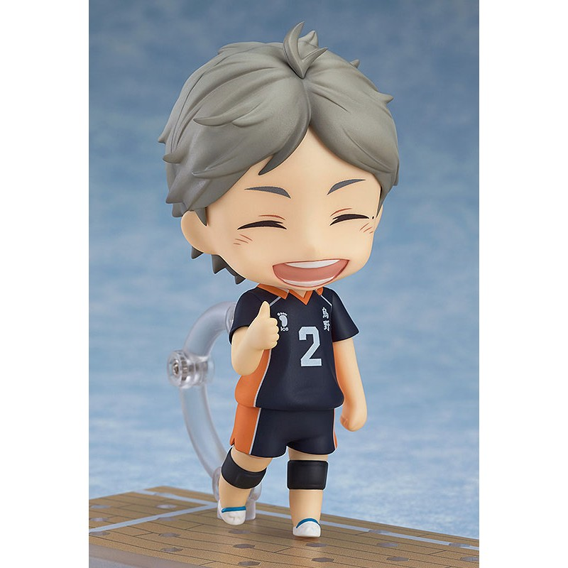 Haikyu!! Third Season Nendoroid Action Figure Koushi Sugawara-3165
