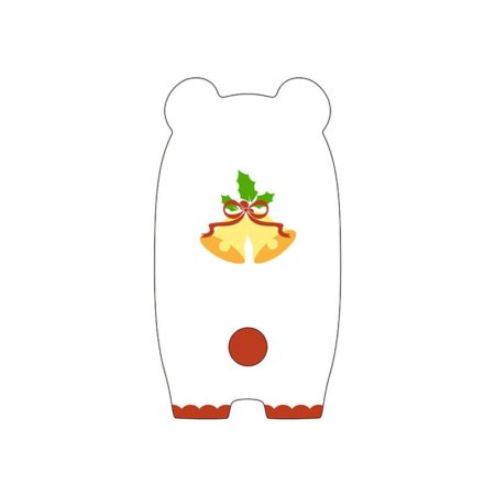 Nendoroid More Face Parts Case for Nendoroid Figures Christmas Polar Bear Version-3126