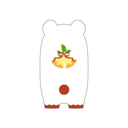 Nendoroid More Face Parts Case for Nendoroid Figures Christmas Polar Bear Version-3126