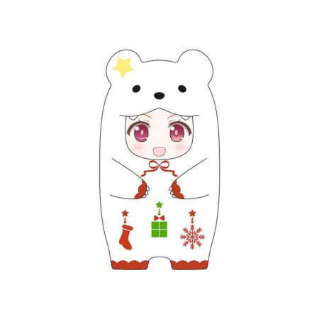 Nendoroid More Face Parts Case for Nendoroid Figures Christmas Polar Bear Version-0