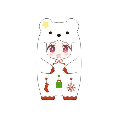 Nendoroid More Face Parts Case for Nendoroid Figures Christmas Polar Bear Version-0