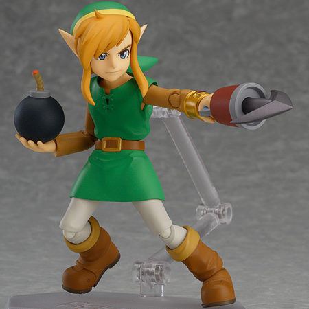 The Legend of Zelda A Link Between Worlds Figma Action Figure Link DX Edition-3240