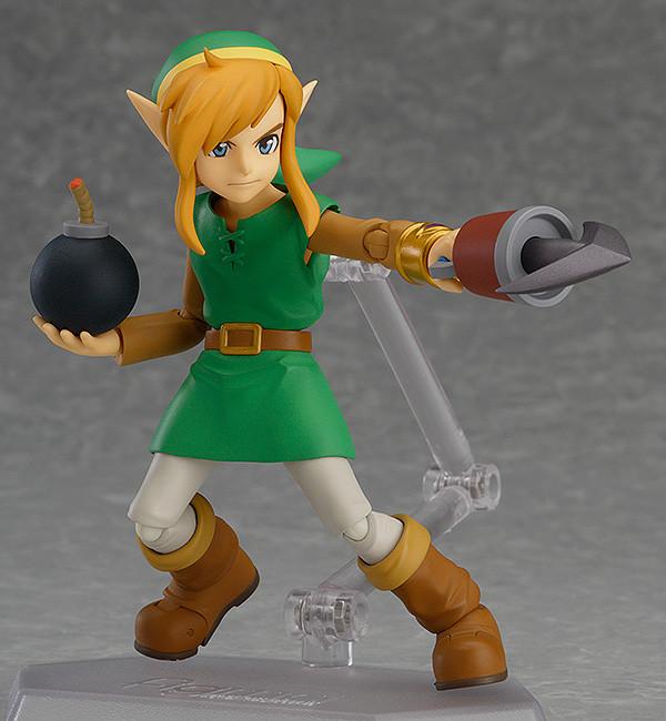 The Legend of Zelda A Link Between Worlds Figma Action Figure Link DX Edition-3240