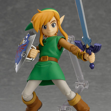 The Legend of Zelda A Link Between Worlds Figma Action Figure Link DX Edition-0