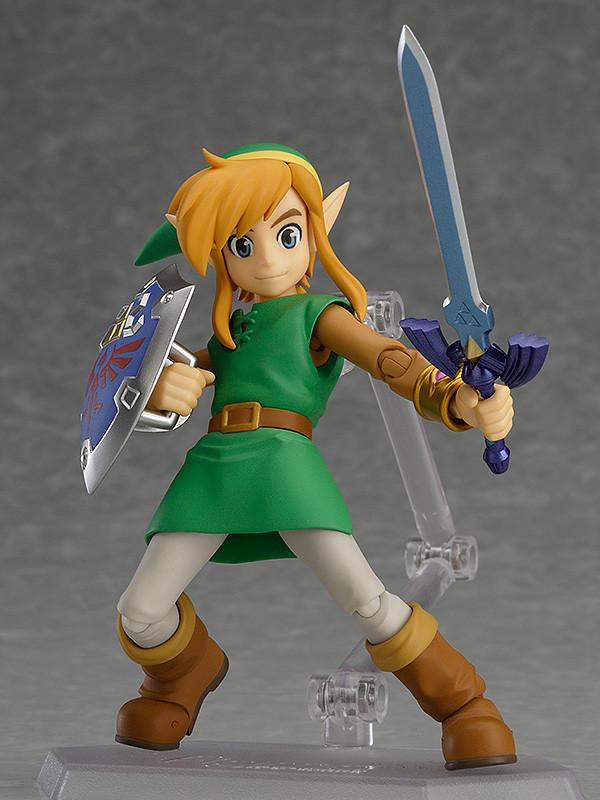 The Legend of Zelda A Link Between Worlds Figma Action Figure Link DX Edition-0