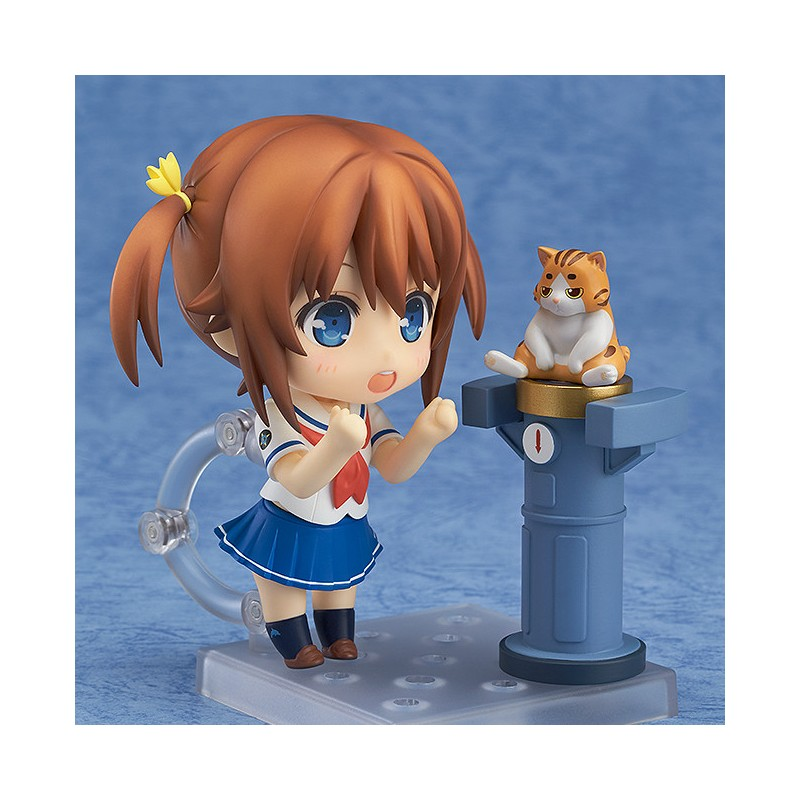 High School Fleet Nendoroid Action Figure Akeno Misaki-3216