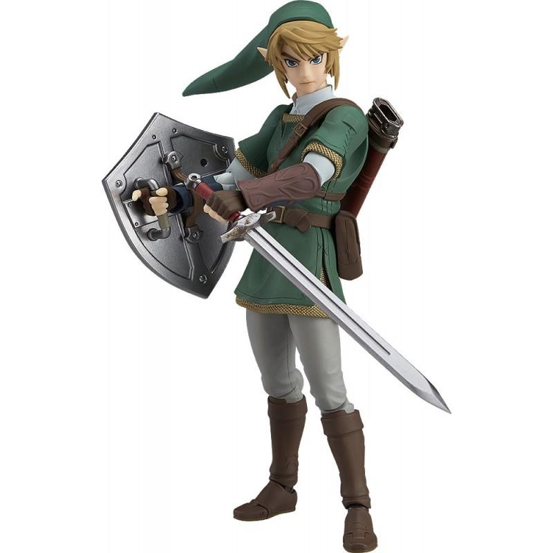 The Legend of Zelda Twilight Princess Figma Action Figure Link DX Version-0