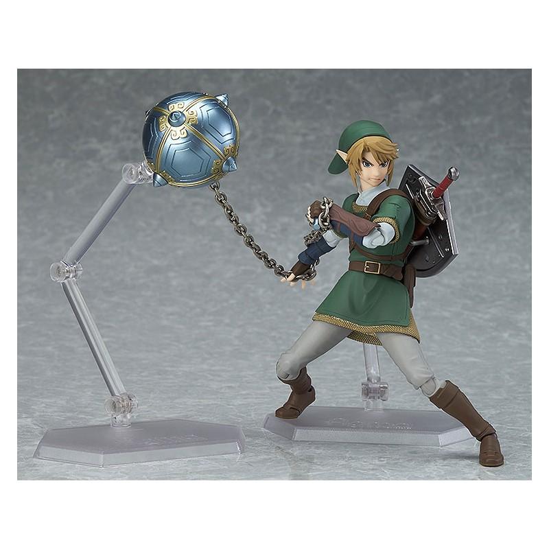 The Legend of Zelda Twilight Princess Figma Action Figure Link DX Version-3775