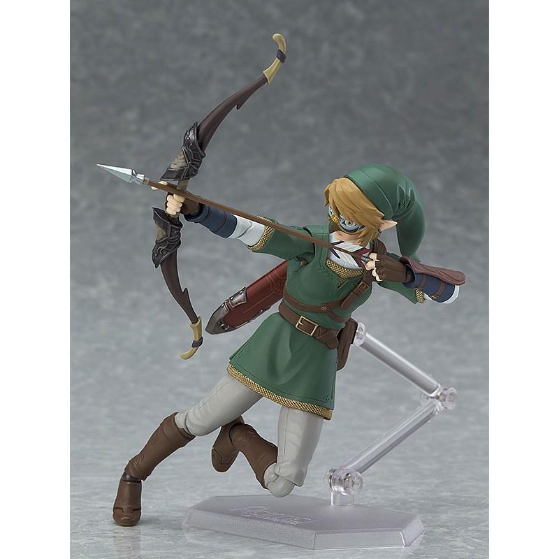 The Legend of Zelda Twilight Princess Figma Action Figure Link DX Version-3773