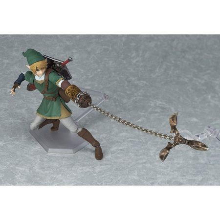 The Legend of Zelda Twilight Princess Figma Action Figure Link DX Version-3776