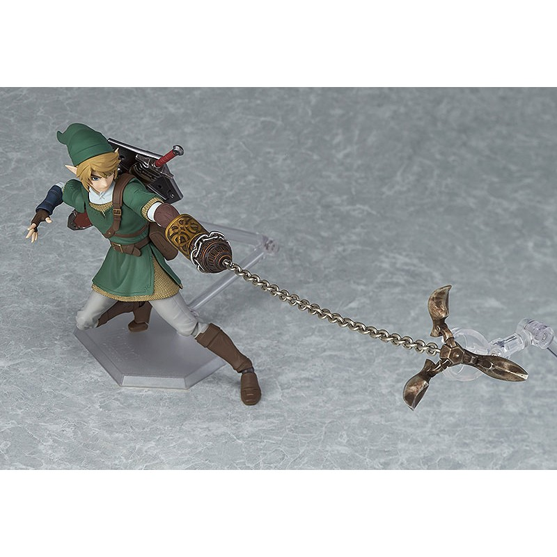 The Legend of Zelda Twilight Princess Figma Action Figure Link DX Version-3776