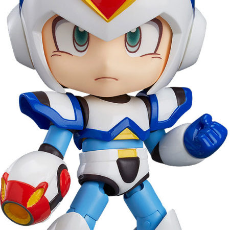 Mega Man X Nendoroid Action Figure Maverick Hunter X Full Armor-0