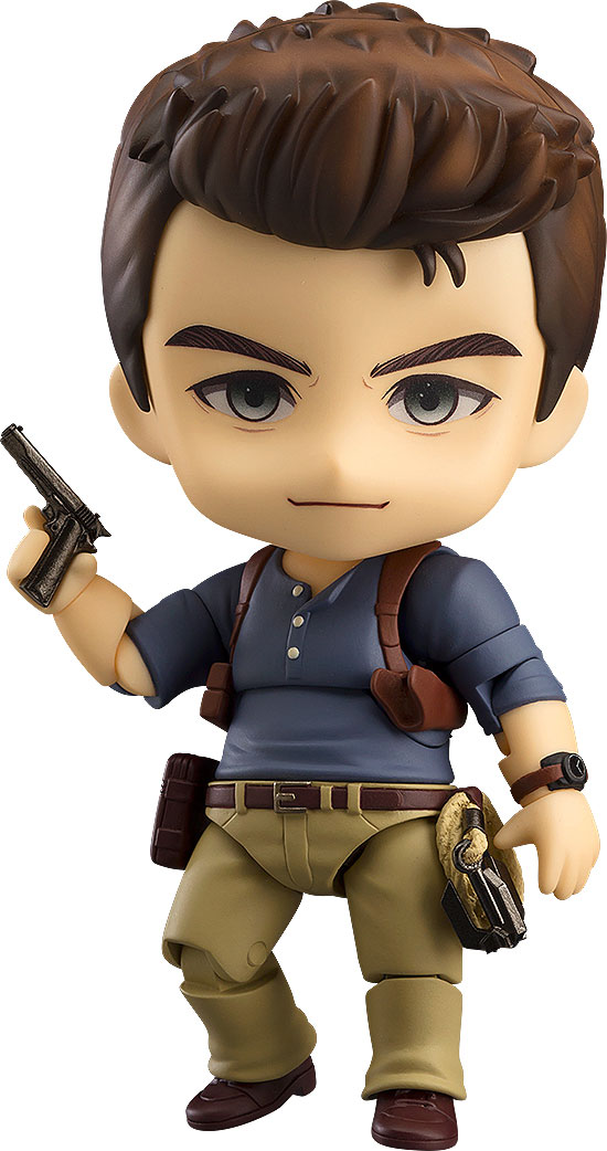Uncharted 4: A Thief's End Nendoroid Nathan Drake (Adventure Edition)-0