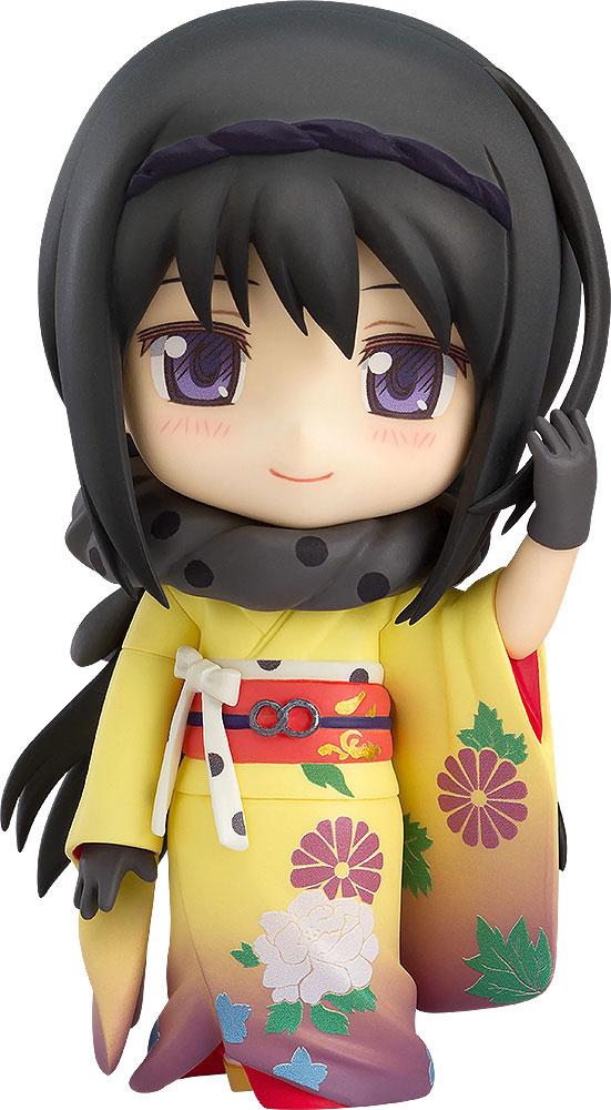 Puella Magi Madoka Magica The Movie Nendoroid Homura Akemi Kimono Version-0