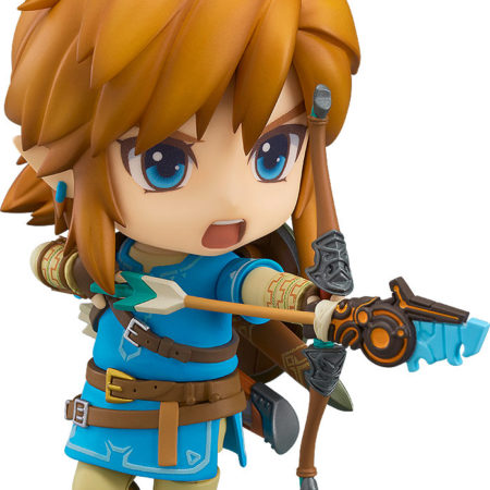 The Legend of Zelda Breath of the Wild Nendoroid Link -0