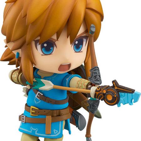 The Legend of Zelda Breath of the Wild Nendoroid Link -0