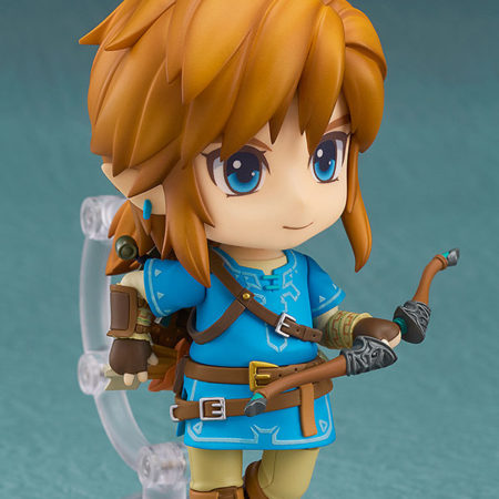 The Legend of Zelda Breath of the Wild Nendoroid Link -4672