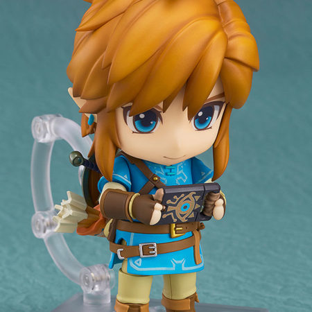 The Legend of Zelda Breath of the Wild Nendoroid Link -4671