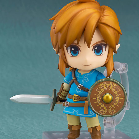 The Legend of Zelda Breath of the Wild Nendoroid Link -4674
