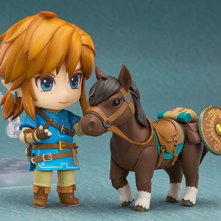 The Legend of Zelda Breath of the Wild Nendoroid Link Deluxe Edition-4683