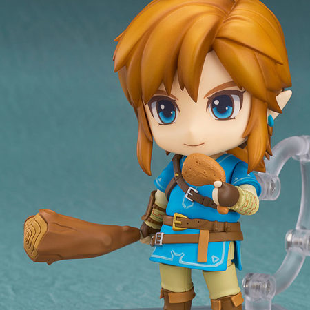 The Legend of Zelda Breath of the Wild Nendoroid Link Deluxe Edition-4676