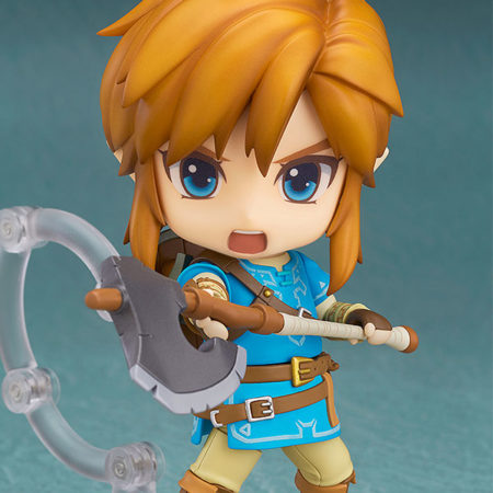 The Legend of Zelda Breath of the Wild Nendoroid Link Deluxe Edition-4679