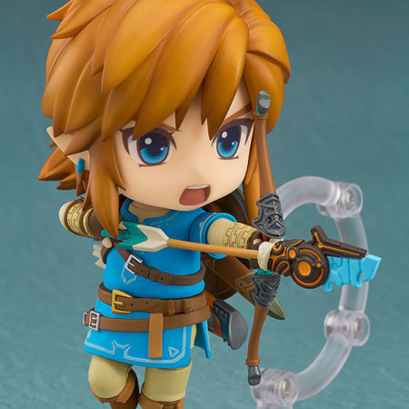 The Legend of Zelda Breath of the Wild Nendoroid Link Deluxe Edition-4677