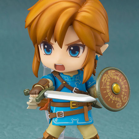 The Legend of Zelda Breath of the Wild Nendoroid Link Deluxe Edition-4681