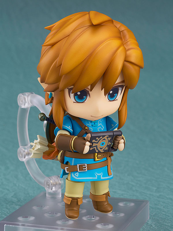 The Legend of Zelda Breath of the Wild Nendoroid Link Deluxe Edition-4678