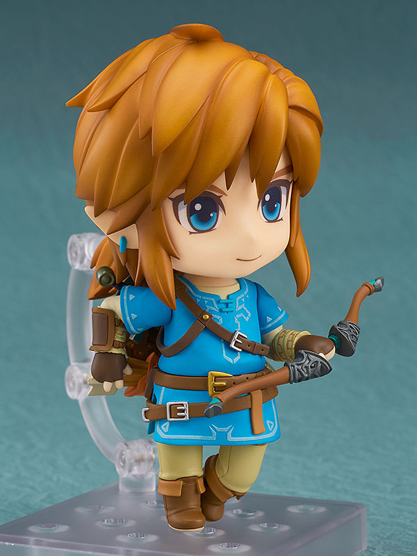 The Legend of Zelda Breath of the Wild Nendoroid Link Deluxe Edition-4682