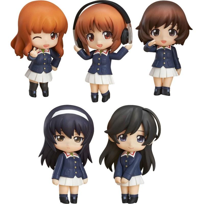Girls und Panzer der Film Nendoroid Petite 5-Set Ankou Team Version-0