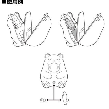 Nendoroid More: Face Parts Case (Pudgy Bear)-5312