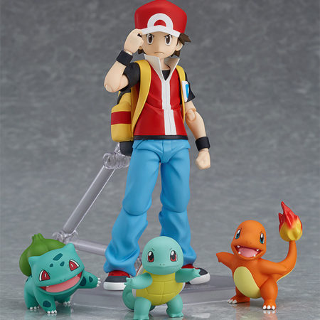 Pokemon figma figure Red-0